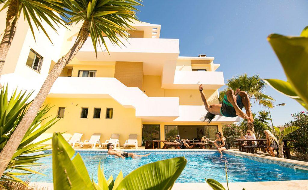 Surfers Hostel In Lagos Portugal Algarve Surf School